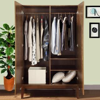胡桃木全实木衣柜