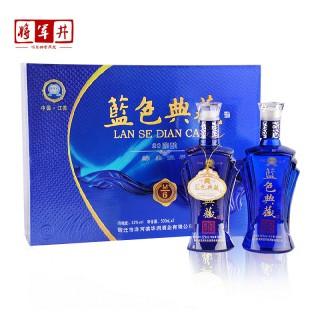 2折/【将军井】中国梦白酒礼盒500ml*2送手提袋 ¥135.