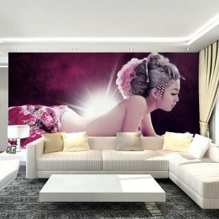 大型3d立体情侣性感装修壁纸