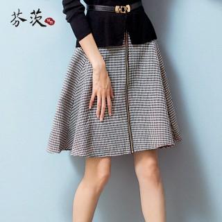 【芬茨】高腰半身裙