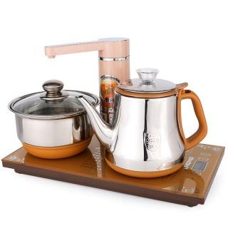 全自动上水壶抽水电热水壶茶具套装hp-202
