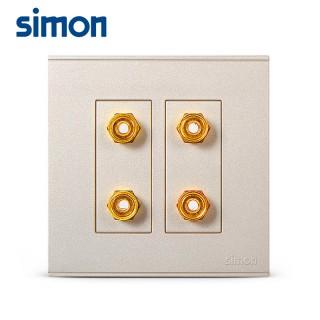 【simon西蒙】开关插座面板e6金色报警开关紧急呼叫