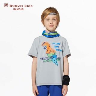 男童动物系列短袖t恤 儿童t恤