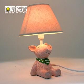 创意调节可爱仰望天空小动物台灯