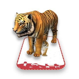 壁纸 动物 虎 老虎 桌面 320_320