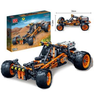 【邦宝】儿童玩具高科益智拼装积木玩具拼装车赛车模型炫影追风号 &
