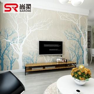 电视背景墙客厅卧室墙壁纸