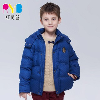男童棉衣加厚棉袄外套