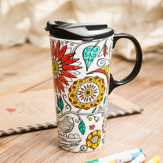 创意diy涂鸦水杯子