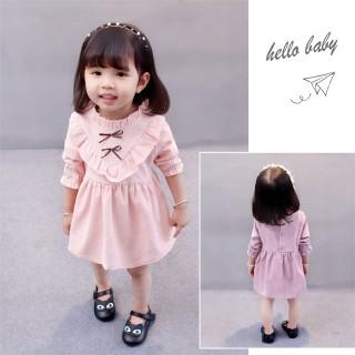 可爱公主裙儿童长袖裙子
